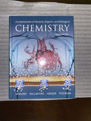 Fundamentals of General, Organic, and Biological Chemistry for Sale in Elk Grove, CA