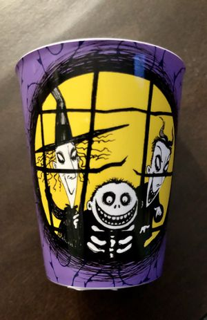 Disney, Nightmare Before Christmas (Plastic) Shot cup. Brand new for Sale in Corona, CA