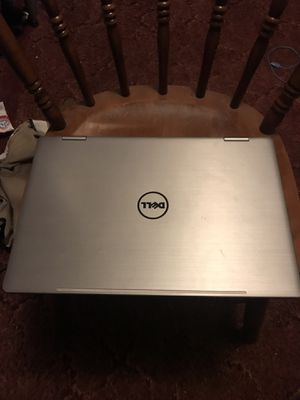 """Dell - Inspiron 2-in-1 15.6"""" Touch-Screen Laptop - Intel Core i7 - 8GB Memory - 512GB Solid State Drive - Silver for Sale in Colmesneil, TX"""