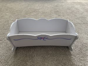 Vintage Baby Doll Cradle for Sale in Clovis, CA