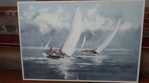 Sailboat giclee for Sale in Cambridge, MA
