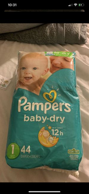 Pampers baby dry size 1 for Sale in Menifee, CA