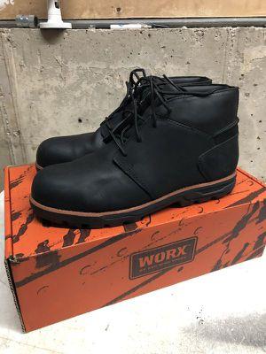 Redwing steeltoe work boots chukka (men size 9) for Sale in Hoffman Estates, IL