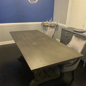Grey Dining Room Table for Sale in Decatur, GA