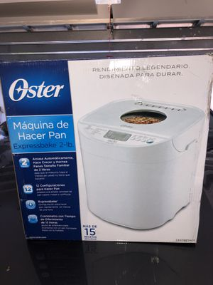 Oster Bread Maker   Expressbake, 2-Pound Loaf for Sale in Sunny Isles Beach, FL