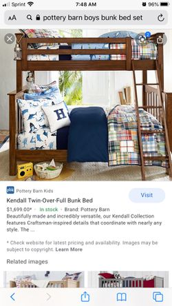 Pottery barn bunk bed for Sale in Florissant,  MO