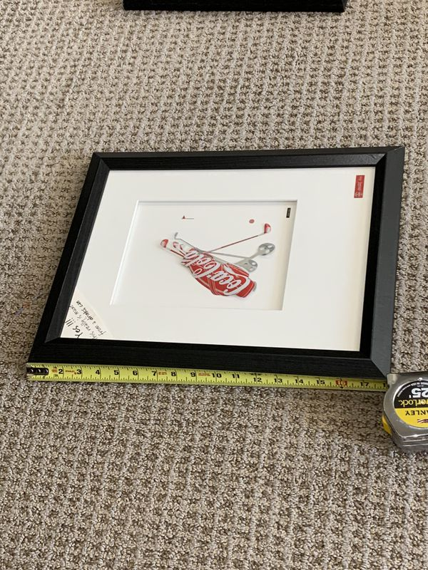 Coca Cola can art picture