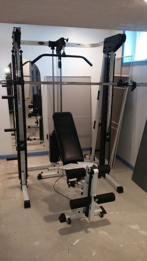 Prosport fitness models: P-100 AND PBL-21 complete home gym & weight bench for Sale in Abingdon, MD