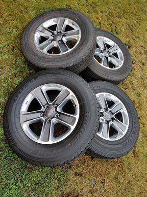 Jeep Wrangler Wheels 255-70-18 for Sale in Tacoma, WA