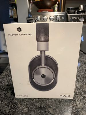 NEW Master & Dynamic MW60 wireless over ear bluetooth headphones for Sale in Queens, NY