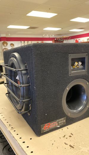 "Single 10"" sub for Sale in Austin, TX"