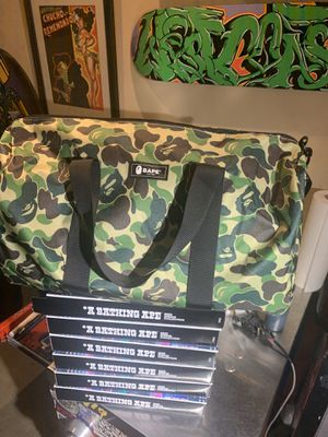 Bape 2020 spring collection Bape Sta 20th anniversary duffle bag for Sale in Alhambra, CA