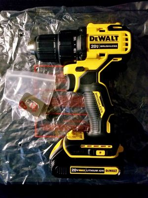 Dewalt Brushless ATOMIC Drill/Driver with Battery for Sale in Hemet, CA