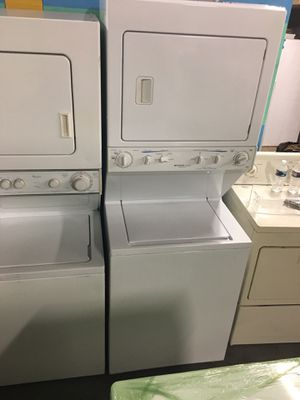 Frigidaire stackable washer and dryer combo 27in working perfectly for Sale in Halethorpe, MD