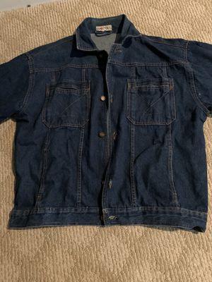 Men's denim jacket never used for Sale in Fairfax, VA