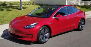 Model 3 rims and tires for Sale in Orange, CA