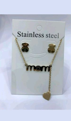 Stainless Steel necklace set for Sale in Buckeye, AZ