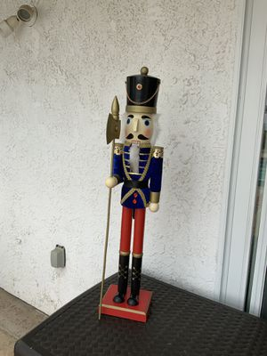 36'' tall Nutcracker for Sale in San Clemente, CA