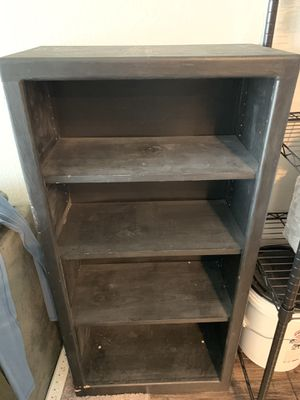 Real Wood Black Bookshelf for Sale in Fort Collins, CO