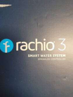 Rachio 3 Smart Sprinkler Controller, 8 Zone 3rd Generation, Alexa and Apple HomeKit Compatible with Hyperlocal Weather Intelligence Plus and Rain, Fre for Sale in Kissimmee,  FL