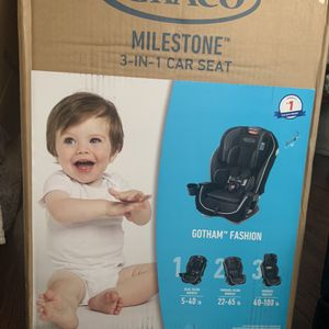 Graco Milestone 3 in 1 Car Seat, Infant to Toddler Car Seat, Gotham for Sale in Las Vegas, NV