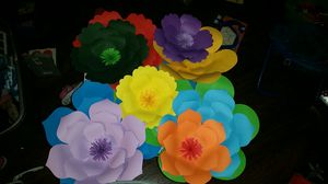 Paper Flowers/Flores de Papel for Sale in Modesto, CA