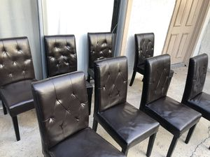 Leather chairs for Sale in Orange, CA