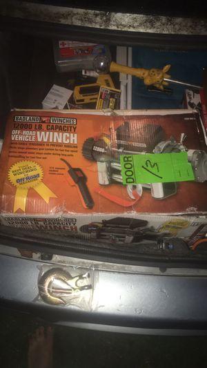 Badland 12000 lb off road winch for Sale in Seaford, DE