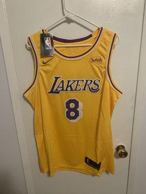 Kobe Bryant #8 yellow Los Angeles Lakers Jersey for Sale in San Fernando, CA
