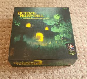 Betrayal at House on the Hill board game for Sale in Libertyville, IL