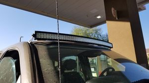 """52"""" curved light bar Chevy/ GMC 2500 with brackets for Sale in Queen Creek, AZ"""