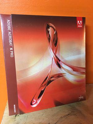 Adobe acrobat pro for Sale in Austin, TX