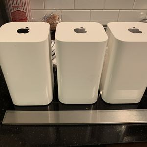 Apple Airport Time Capsule And Two Airport Extreme WiFi Routers for Sale in Portsmouth, VA