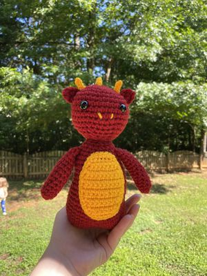 Crochet Dragon Plushie for Sale in Stokesdale, NC