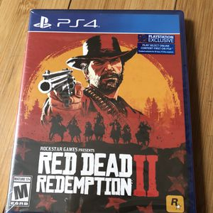 Brand New PS4 Red dead Redemption 2 for Sale in Coyote, CA