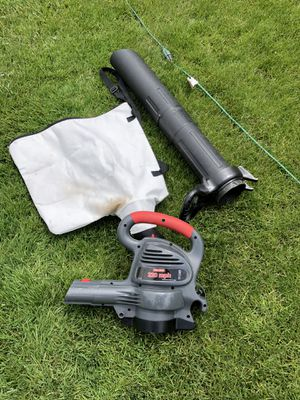 Craftsman leaf blower sucker vacuum corded electric for Sale in Beaver, PA