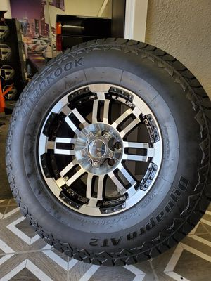 "16 "" Vision Wheels and Hankook Tires for Sale in Orange, CA"