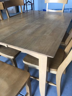 Kitchen Table & 6 Chairs from World Market for Sale in Clovis, CA