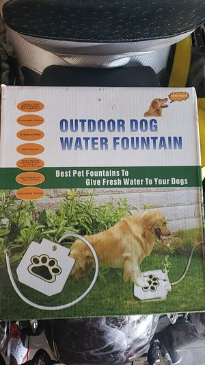 Out door water fountain for Sale in Orange, CA