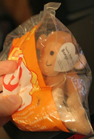 Teenie Beanie Baby Monkey Bongo Mcdonalds Sealed in Package. for Sale in Hicksville, NY