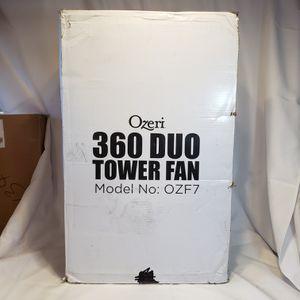 Ozeri 360 Dual Oscillation Tower Fan for Sale in Spokane, WA