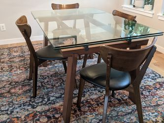 Glass Top Dining Table for Sale in Portland,  OR