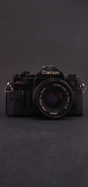 Canon A-1 SLR 35mm Film Camera Bundle for Sale in Denton, TX