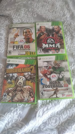 Xbox 360 games $25 each for Sale in Dana Point, CA