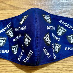 Raiders Adult Face Mask Blue Color for Sale in Glendale, AZ