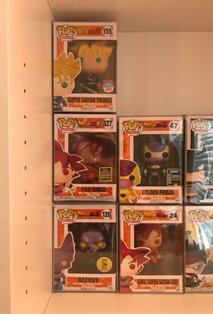 Dragonball Z super Funko pops for Sale in Vancouver, WA