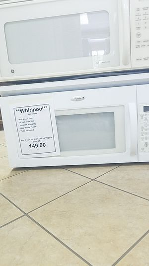 Whirlpool Microwave for Sale in New Port Richey, FL