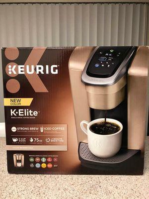 Keurig K-Elite NEW $145 for Sale in Buena Park, CA