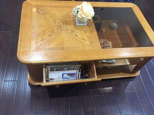Oak coffee table for Sale in Brentwood, TN