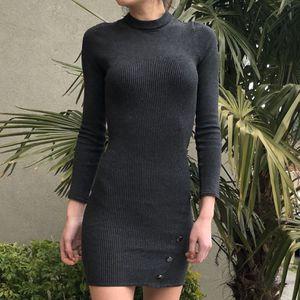 Marciano knitted mini dark grey dress for Sale in Seattle, WA